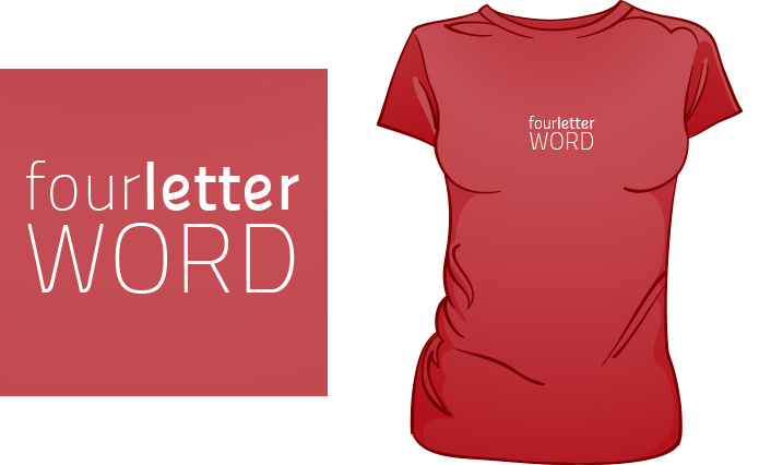 Four Letter Word t-shirt