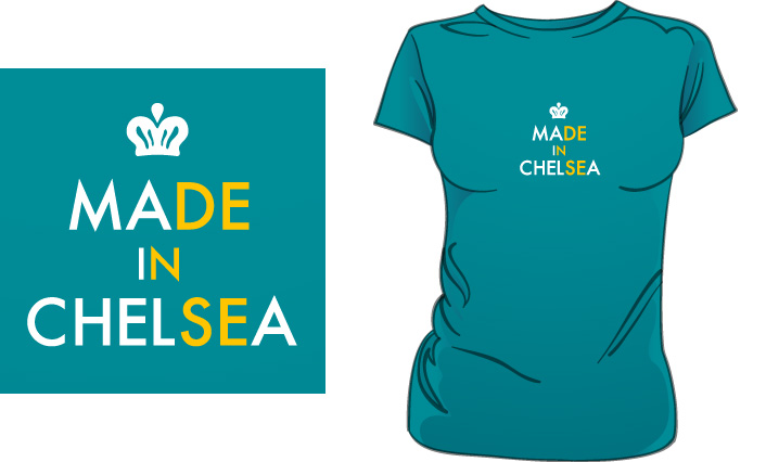 Made In Chelsea (Dense) t-shirt