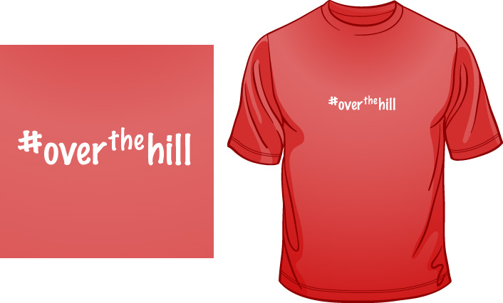 #Over The Hill t-shirt