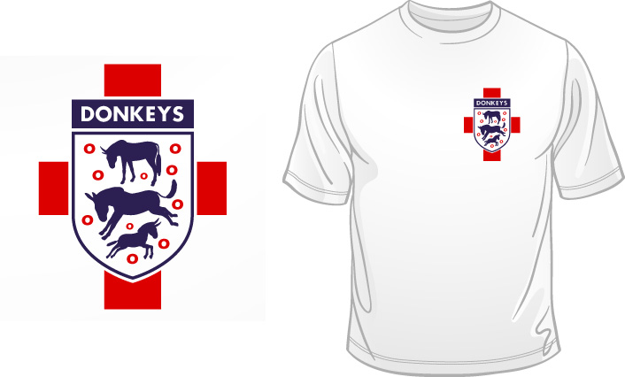 3 Donkeys t-shirt
