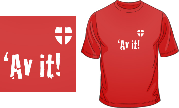 Av It England T-Shirt
