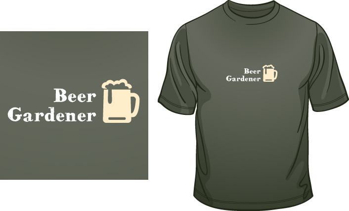Beer Gardener t-shirt