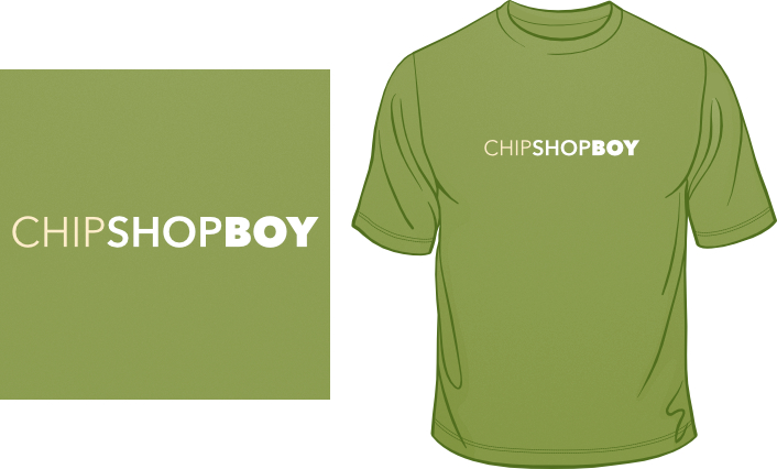 Chip Shop Boy t-shirt
