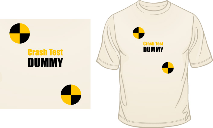 Crash Test Dummy t-shirt