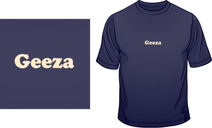 Geeza t-shirt