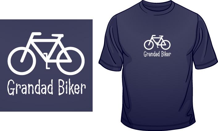Grandad Biker t-shirt