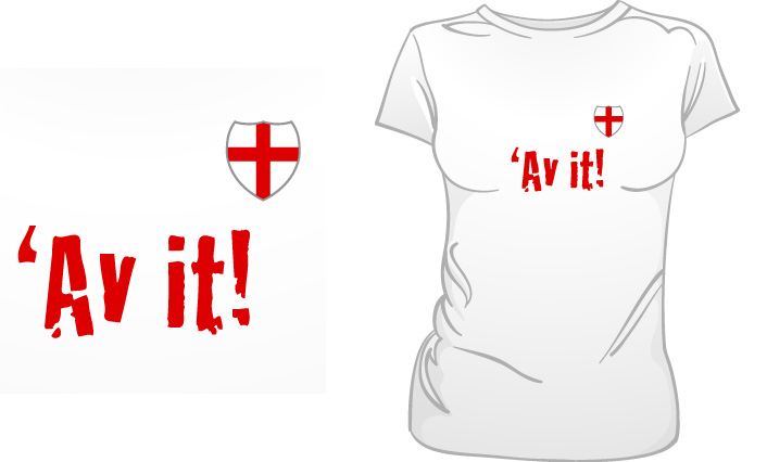 Av It! England t-shirt