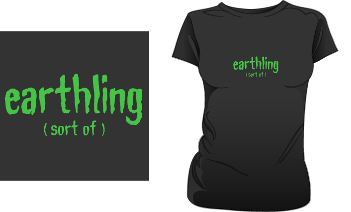 Earthling (Sort Of) t-shirt