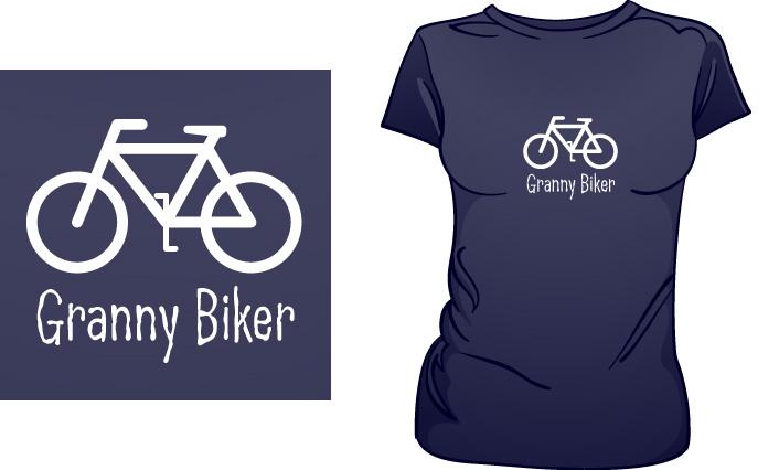 Granny Biker t-shirt