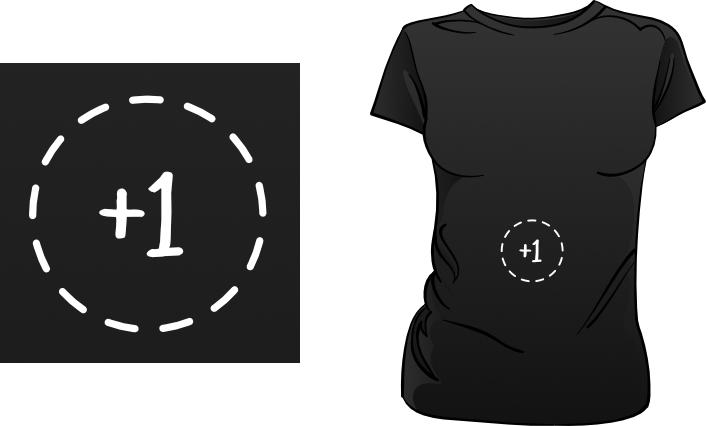 +1 t-shirt