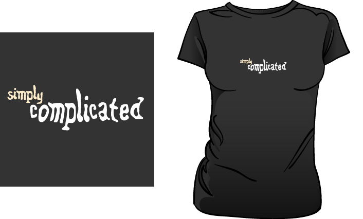 Simply Complicated t-shirt