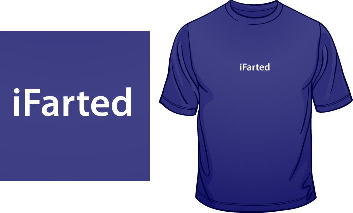 iFarted t-shirt