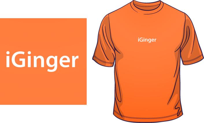 iGinger t-shirt