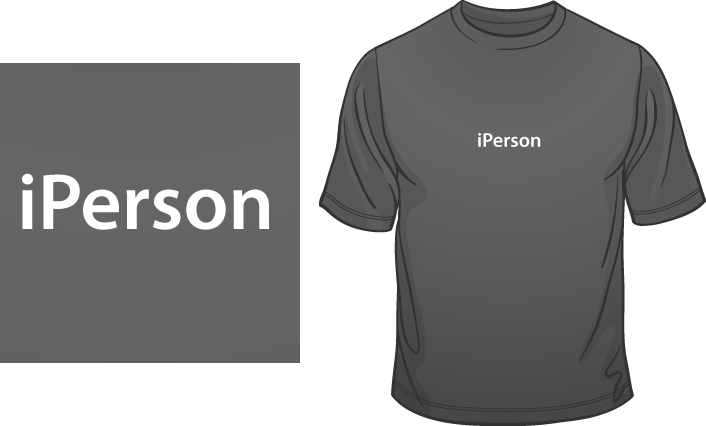 iPerson t-shirt