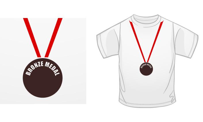 Bronze Medal t-shirt