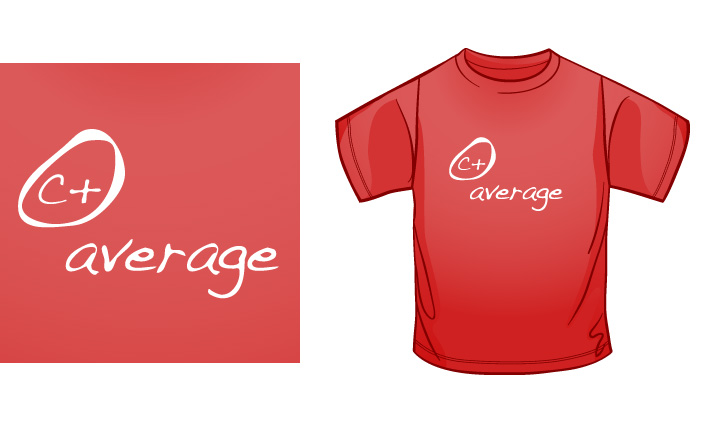 C+ Average t-shirt