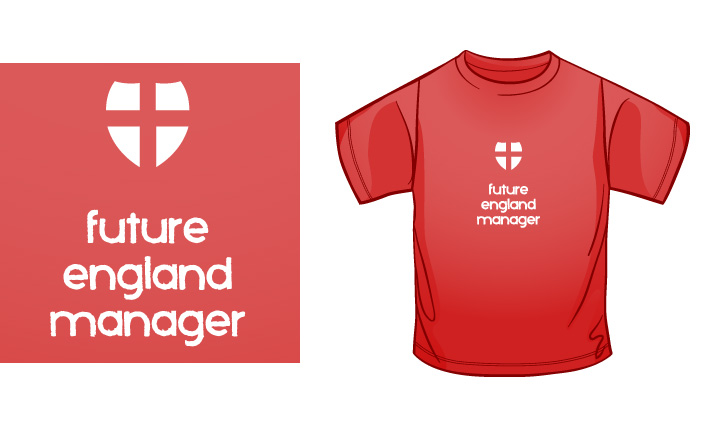 Future England Manager t-shirt