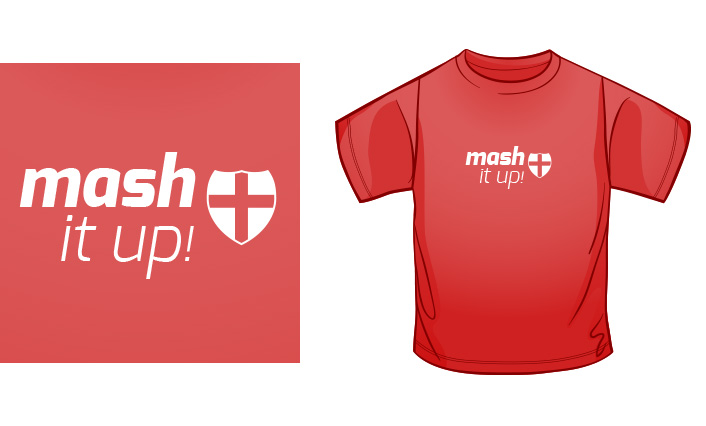 Mash It Up England t-shirt