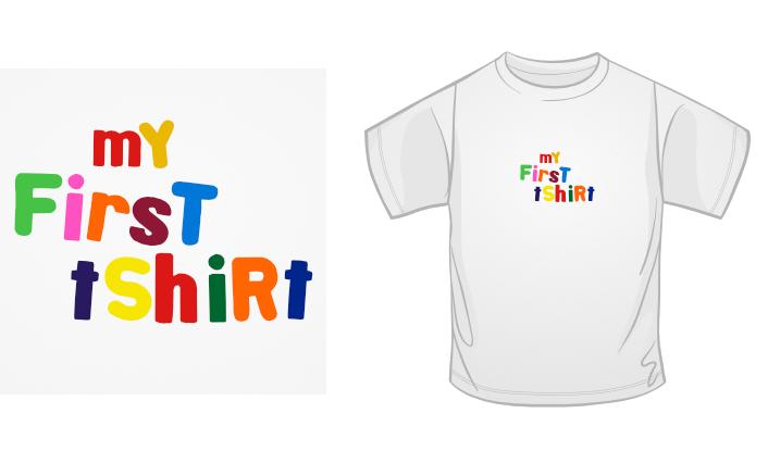 My First TShirt t-shirt