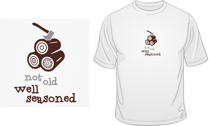 Not Old. Well Seasoned. t-shirt