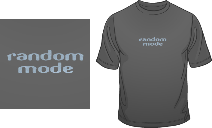 Random Mode t-shirt