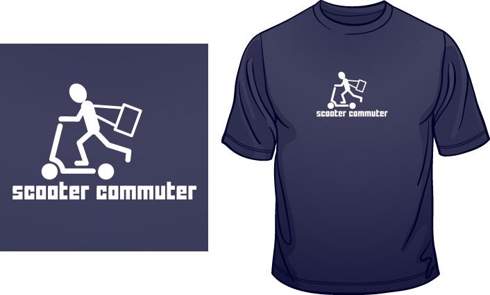 Scooter Commuter t-shirt