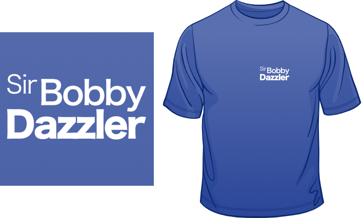 Sir Bobby Dazzler t-shirt