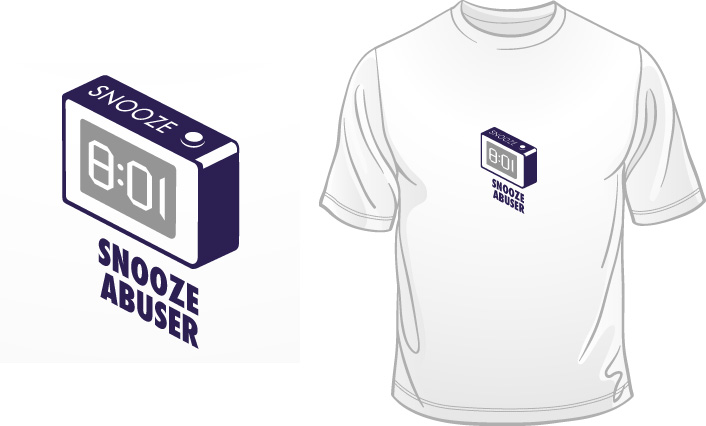 Snooze Abuser t-shirt